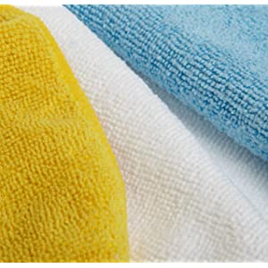 cleaning cloths 144 yellow microfiber towels polish