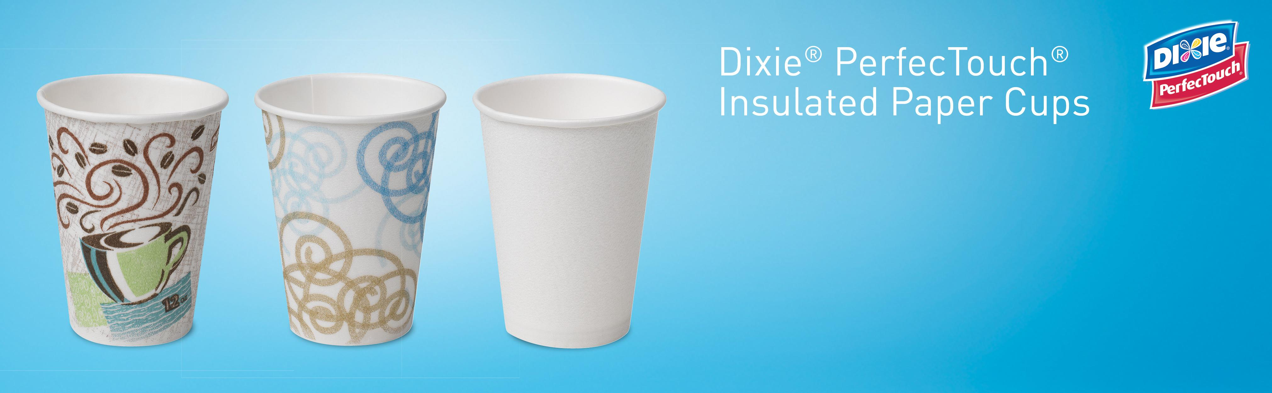amazon com dixie perfectouch 5342dx wisesize insulated paper cup