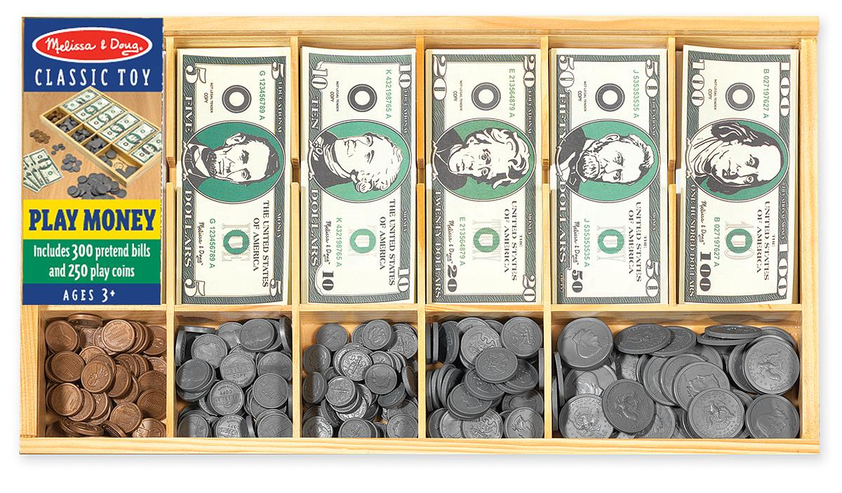 Fake Toy Money : Amazon melissa doug play money set educational
