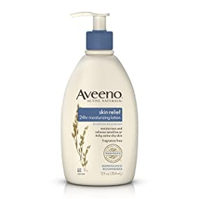AVEENO SKIN RELIEF 24HR MOISTURIZING LOTION, FRAGRANCE FREE