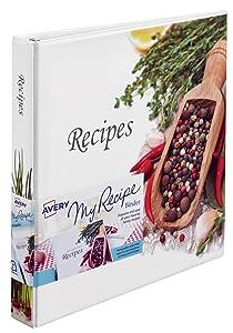 recipe binder and designer view binders