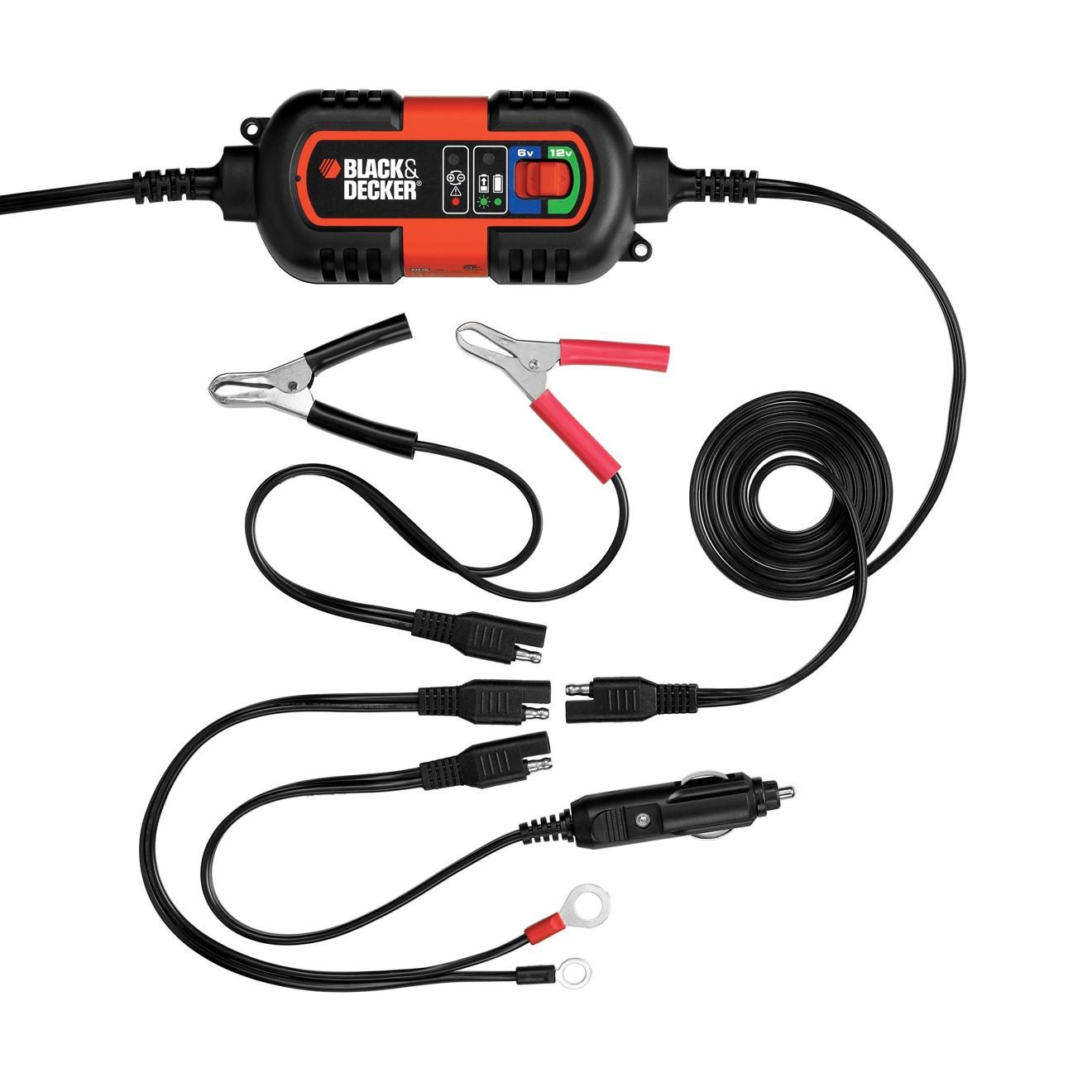 Black Decker Bm3b Fully Automatic 6v 12v Battery Charger Protection Circuit As Well 12 Volt From The Manufacturer