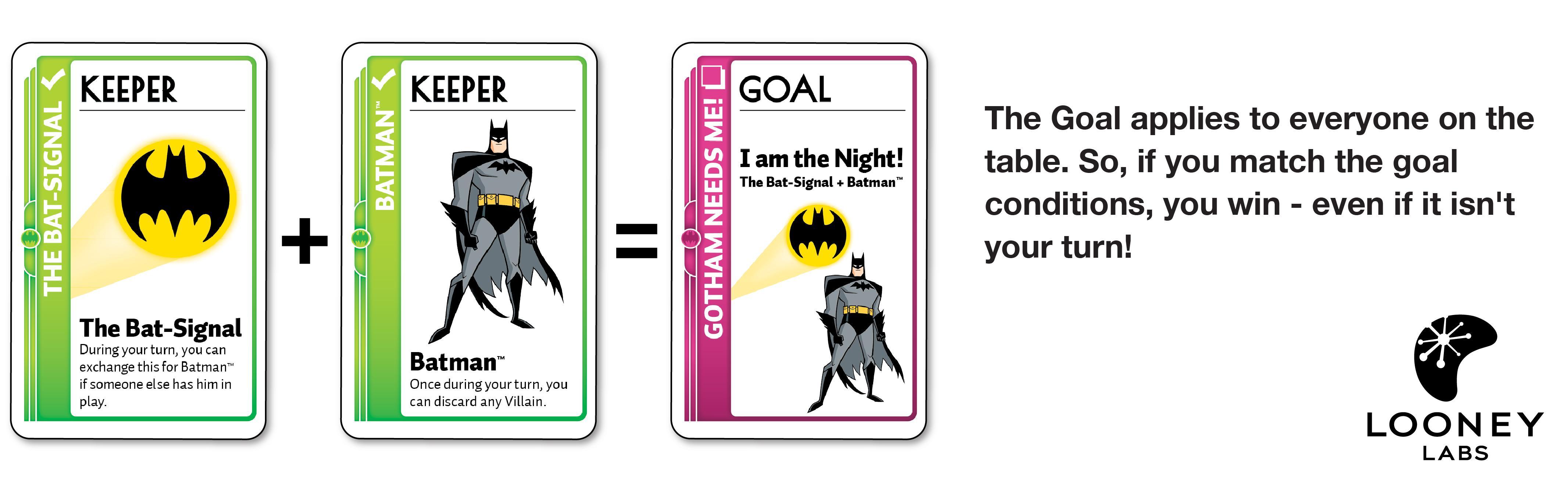 Amazon.com: Juego de cartas Batman Fluxx: Toys & Games