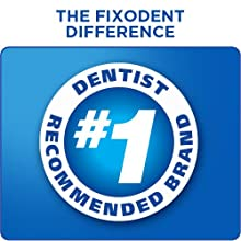 The Fixodent Difference - secure denture adhesive, denture glue