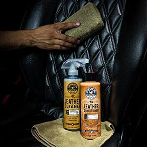 Amazon Com Chemical Guys Leather Cleaner And Conditioner Complete
