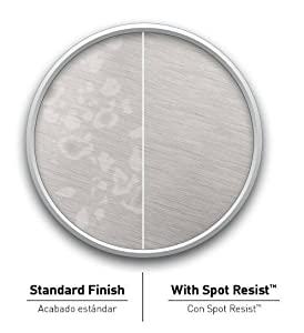 Spot Resist Brushed Nickel Finish