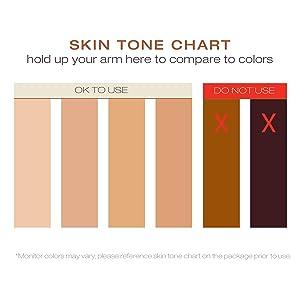 Skin Tone Chart