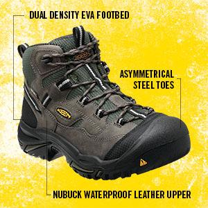 The Keen Braddock Mid WP Boot is built to last. A hearty nubuck upper and  KEEN.DRY waterproof membrane help repel outdoor elements for all-day  comfort ... 26f67aba3c1