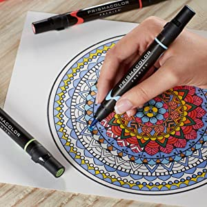 Prismacolor Premier Double-Ended Art Markers - Adult Coloring