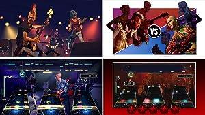 Rock Band Rivals Expansion Screen Shots of Rockudrama, Rivals Mode, Online Multiplayer, Brutal Mode