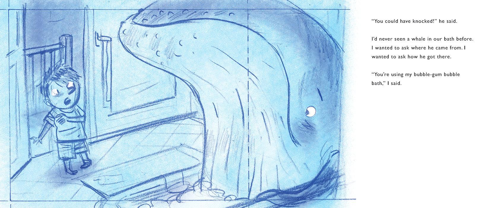 A Whale in the Bathtub: Kylie Westaway, Tom Jellett: 9780544535350 ...