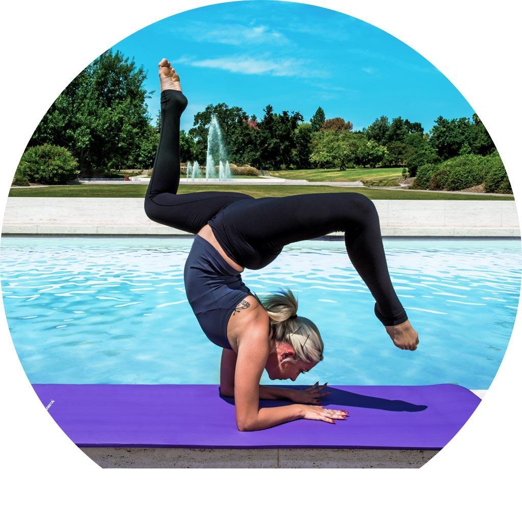 Amazon.com : Prosource Premium Extra Thick Yoga And