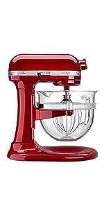 Amazon Com Kitchenaid Ksm150psga Artisan Series 5 Qt