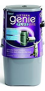 genie litter disposal system, genie litter, best kitty litter, corner kitty litter box, pet stores