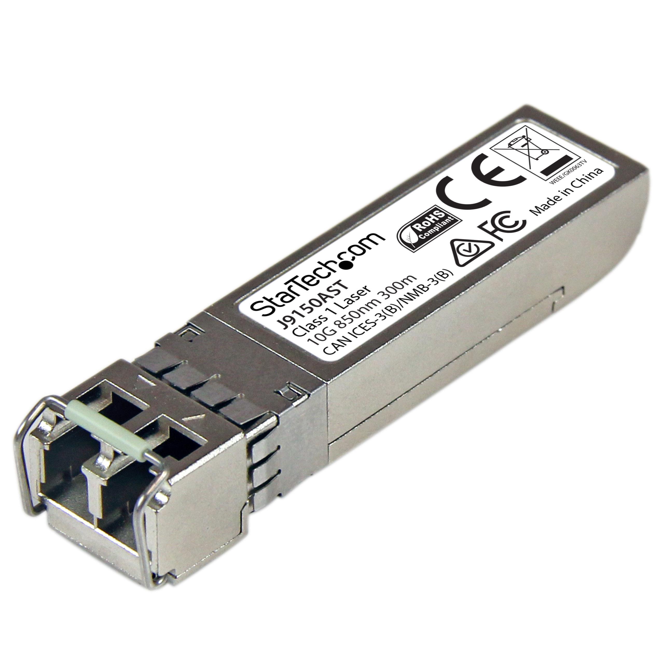 Module J9150D-ST StarTech.com HP J9150D Compatible SFP 10GBase-SR ...