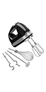 SNOWINSPRING 2Pcs Handheld Mixer Turbo Beater for Kitchen Auxiliary Equipment for Khm2B W10490648 KHM926