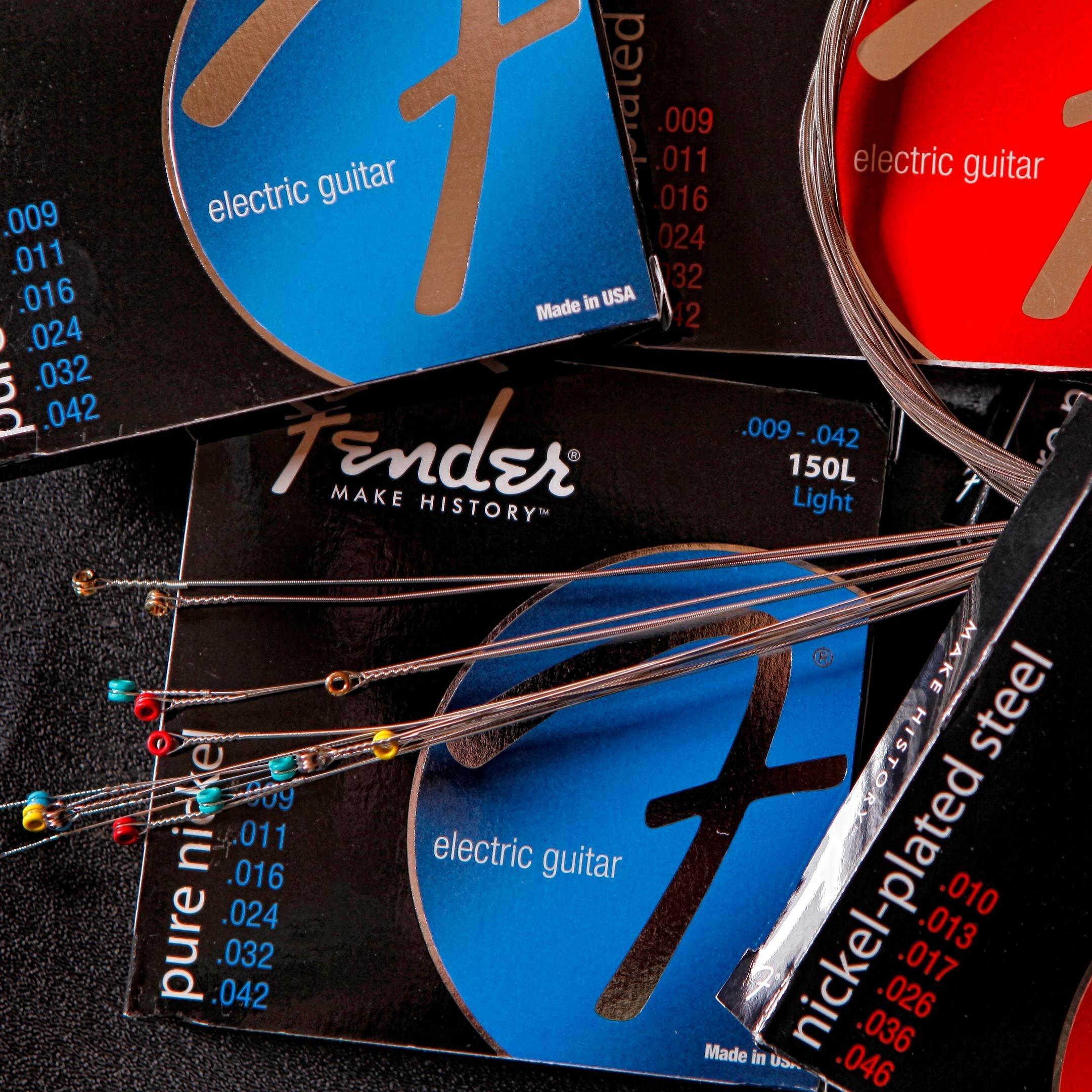 fender 150r pure nickel electric guitar strings regular musical instruments. Black Bedroom Furniture Sets. Home Design Ideas