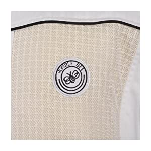 Humble Bee ventilated beekeeping suits use durable 280 gsm polycotton cloth with ventilation panels