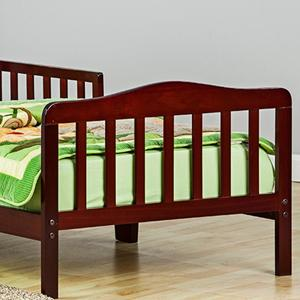 Amazon.com : Dream On Me Classic Toddler Bed in White : Baby