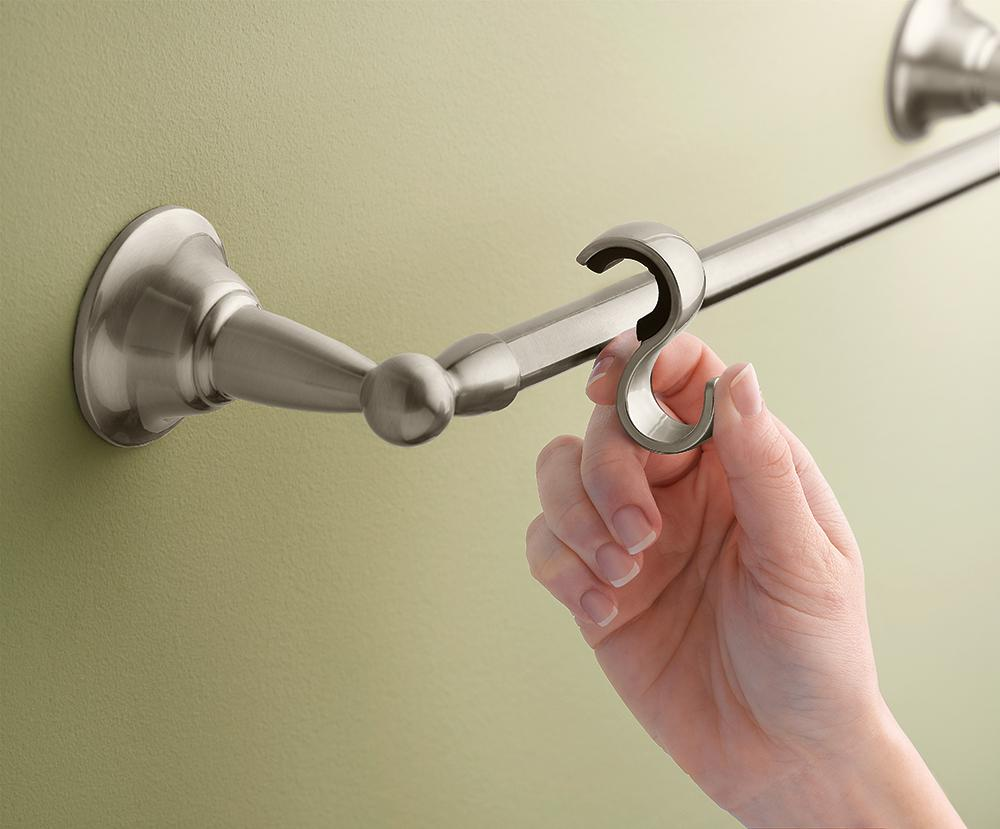 Genial The Moen Sage Bathroom Towel Bar Comes With Mounting Hardware That Makes  Installation Easy