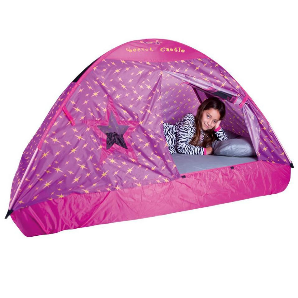 bed tent. View larger  sc 1 st  Amazon.ca & Pacific Play Tents Secret Castle Double Full Size Bed Tent: Amazon ...