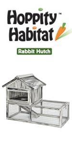 Hoppity Habitat Rabbit Hutch