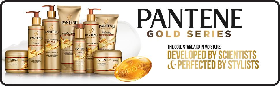 Pantene, Pantene pro-v, gold series, hair products, hair care products, damaged hair treatment