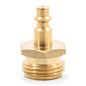 Amazon.com: Camco Blow Out Plug With Brass Quick Connect