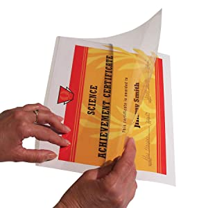 C-Line Cleer-Adheer Quick Cover Laminating Folder