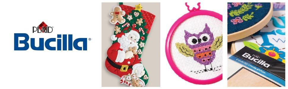 Bearing Gifts Bucilla 86968E Felt Applique Kit