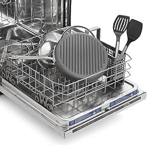 Calphalon Signature Nonstick 12-inch Round Griddle Pan - Dishwasher Safe