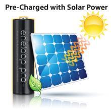 eneloop, Panasonic, battery, batteries, rechargeable, rechargeable batteries, AAA battery