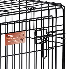 Amazoncom Dog Crate Midwest Icrate 24 Folding Metal Dog Crate
