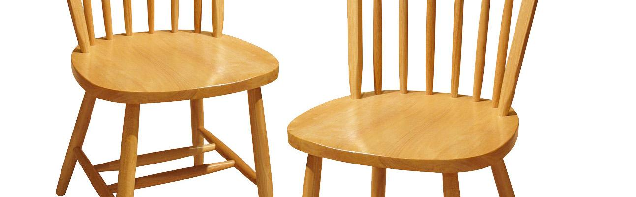 Winsome Wood Windsor Chair Natural Set Of 2 Amazon Ca