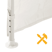 Amazon Com Palm Springs 10 X 20 White Party Tent Gazebo