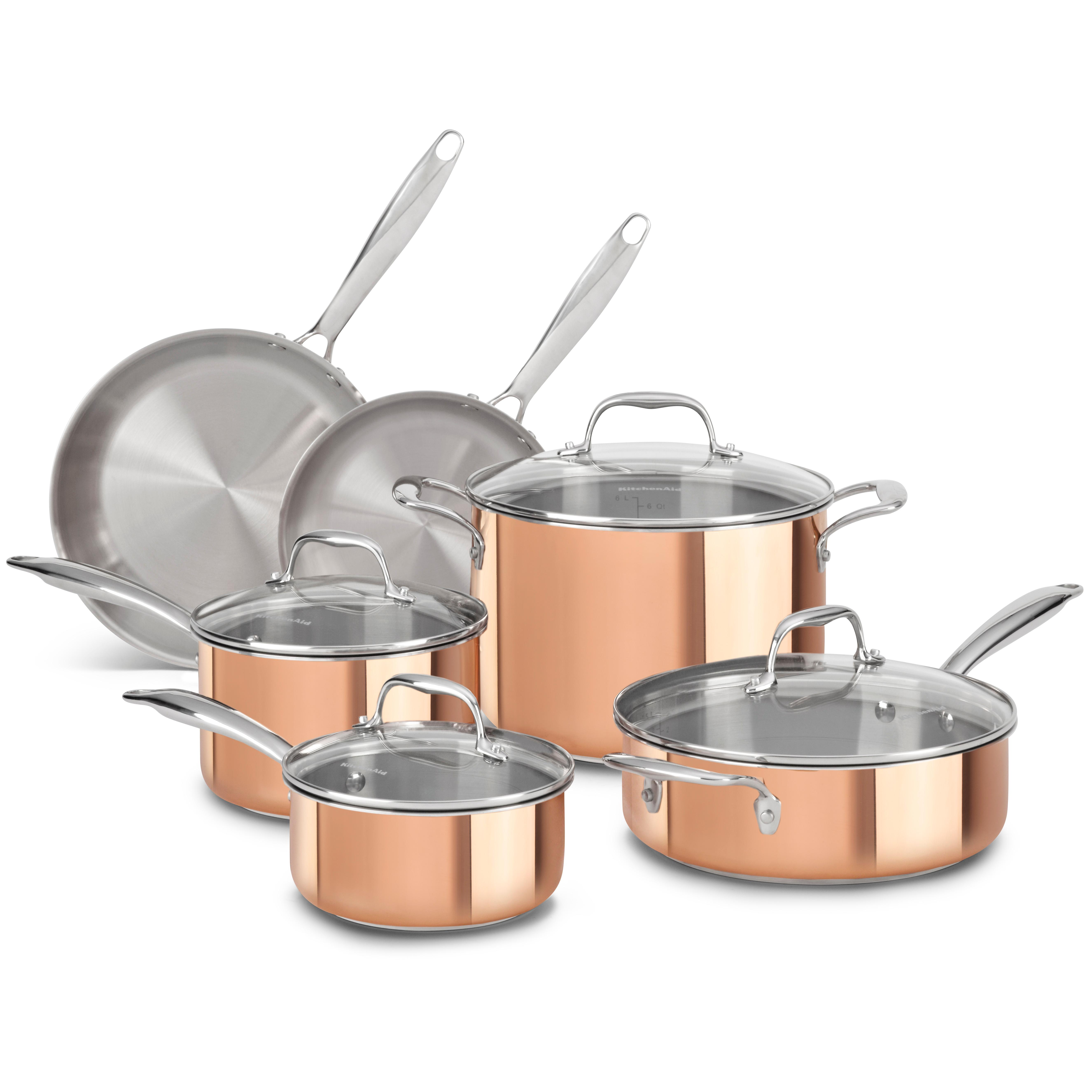 Amazon Com Kitchenaid Kci10gper Cast Iron Grill And
