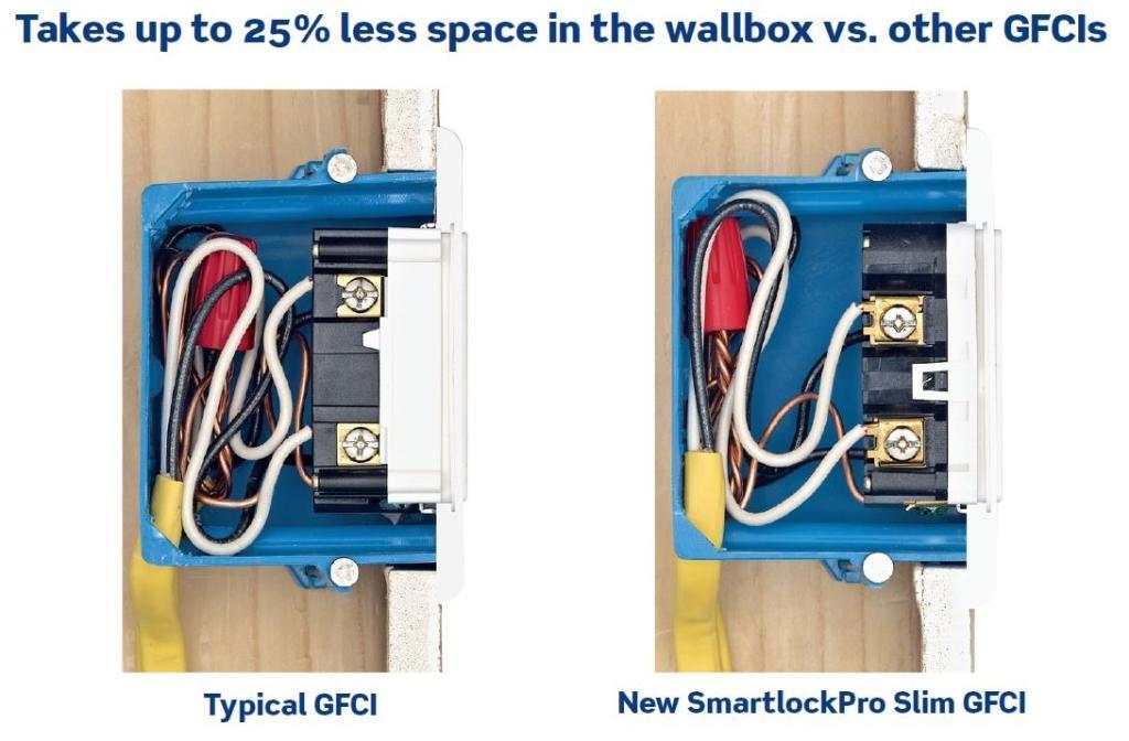 Leviton N7599w 15 125volt Smartlock Pro Slim Nonter Rhamazon: Smart Lock Gfci Wiring Diagram At Gmaili.net