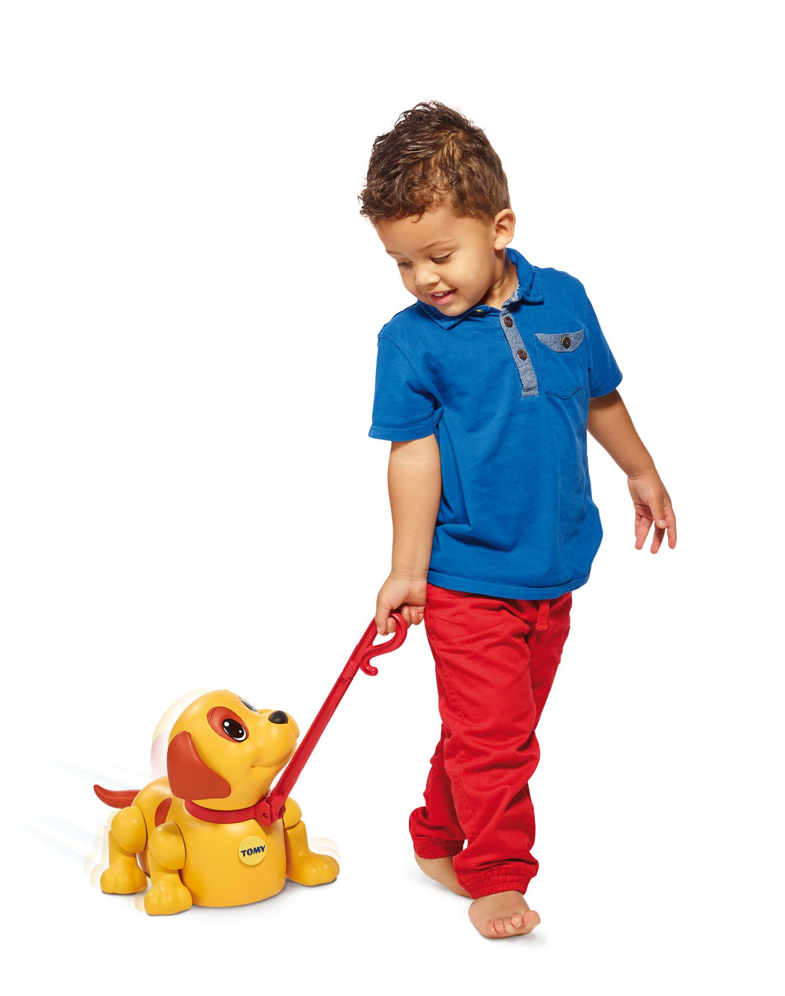 Best Pull Toys For Kids : Tomy kids push pull me puppy toy amazon toys games
