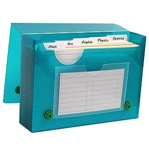 C-Line Poly Index Card Case