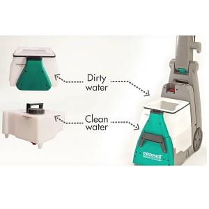 Bissell BigGreen Commercial BG10 Deep Cleaning 2 Motor Extractor Machine 7