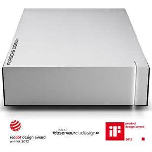 LaCie Porsche Design P'9230 USB 3.0 Desktop Hard Drive