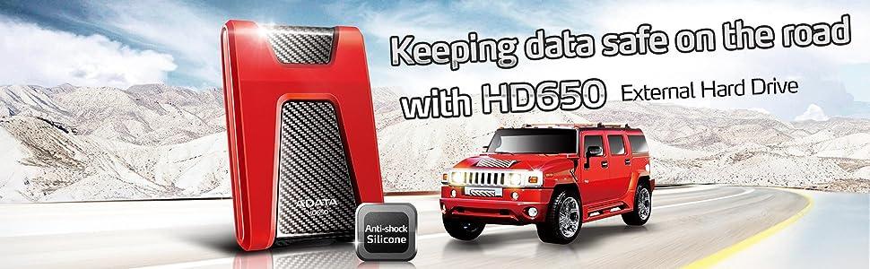 HD650 HDD rubber USB3