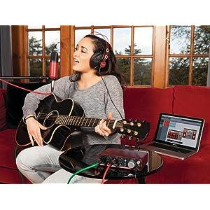 Studio-Quality Microphone and Headphones
