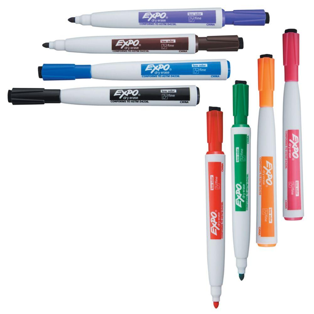 Amazon.com: EXPO 1944748 Magnetic Dry Erase Markers with