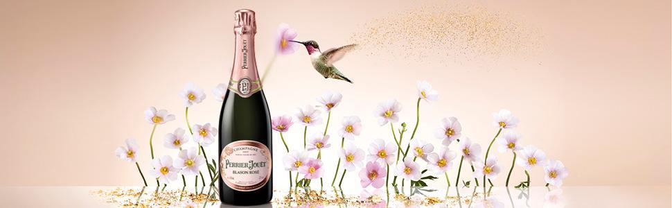 Perrier Jouet Blason Rose Champagne