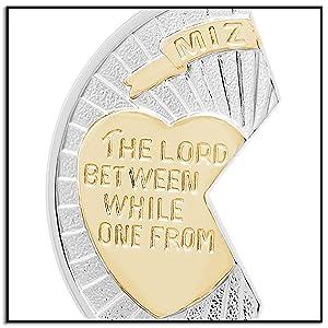Mizpah Medal Half