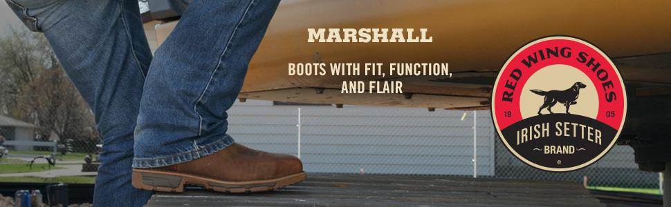 irish setter,red wing,work boot,work boots