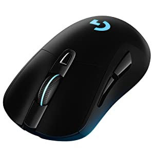 Logitech G403 Prodigy RGB Gaming Mouse – 16 8 Million Color Backlighting, 6  Programmable Buttons, Onboard Memory, Up to 12,000 DPI