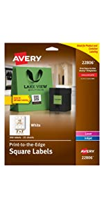 round branding labels square branding labels