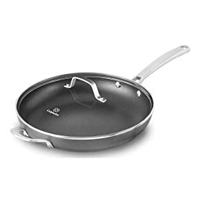 Calphalon Classic Nonstick 12-Inch Fry Pan with Cover - Hero Image